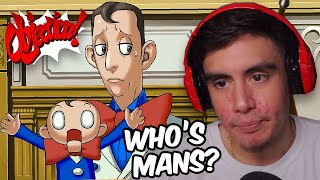 WE REALLY INTERROGATED A DUMMY AND HE GAVE US ATTITUDE   Phoenix Wright: Justice For All [11]