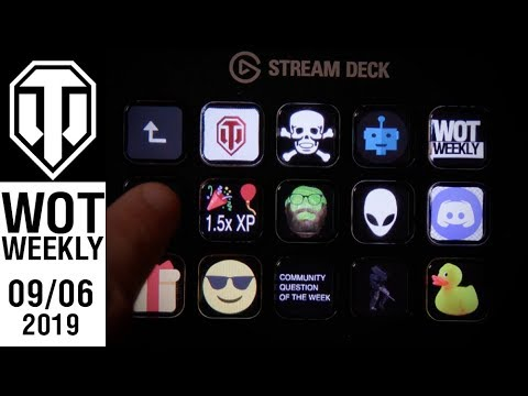 World of Tanks Weekly #132 - /RUN_PRGRM WOT WEEKLY | Tanks