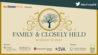 2017 Family & Closely Held Business Summit - BizTimes Media