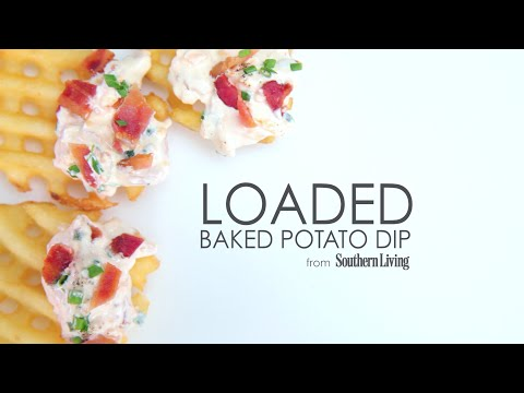 How to Make Loaded Baked Potato Dip
