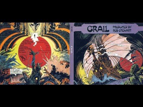 """GRAIL """"S/T"""" ORIG FR 1971 RARE HEAVY PROG ROD STEWART PROD."""