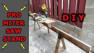 Pro DIY Miter Saw Stand