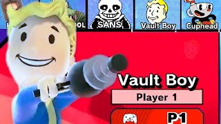 Play As Vault Boy in Super Smash Bros Ultimate x Fallout Vault Boy   DLC