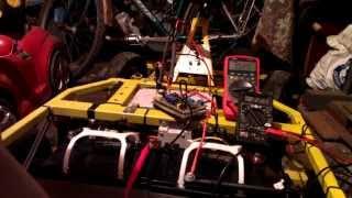 контроллер на TL494 самодельный на детскую машику