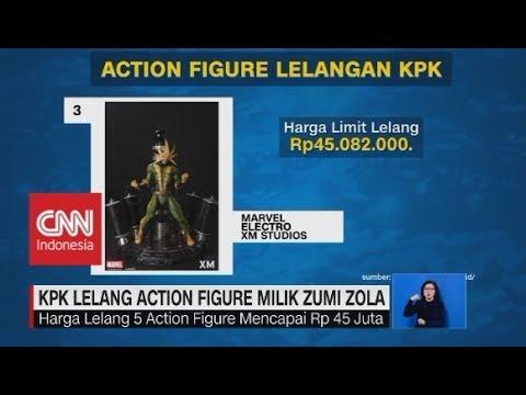KPK Lelang Action Figure Milik Zumi Zola
