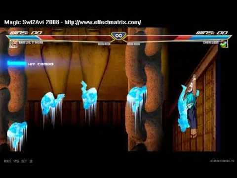 Mortal Kombat (Chameleon) X Street Fighters (Akuma)