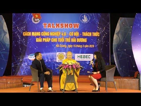 Talkshow Cách mạng công nghiệp 4.0 - TT. Thích Nhật Từ với LS. Lê Thanh Sơn