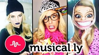 REBECCA ZAMOLO'S BEST MUSICAL.LYS COMPILATION 2017! (FUNNIEST AND CRINGIEST)