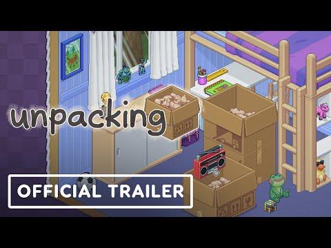 Du gameplay pour le jeu de puzzle zen de Unpacking