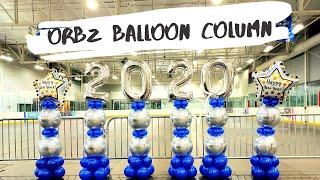 Orbz Balloon Column | How To | Orbz Balloon | Balloon Decor Tutorial