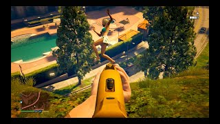 Sly Gameplay - GTA 5 Funny/Brutal Moments Compilation Vol.46 (Ladders/Stairs/Funny)