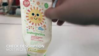 ✅  How To Use Babyganics 50 SPF Mineral Based Baby Sunscreen Review