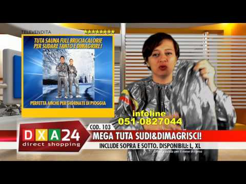 TUTA SAUNA FULL BRUCIA CALORIE | DXA24.COM