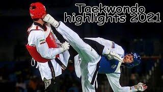 Taekwondo highlights 2021