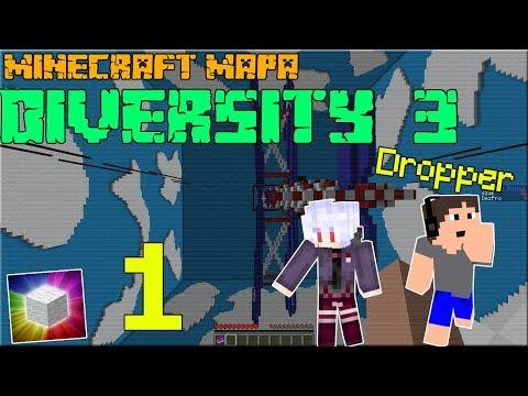 Minecraft mapa DIVERSITY 3 |#1| VELKÝ PARKOUR BRANCH