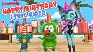 HAPPY BIRTHDAY LYRIC VIDEO Gummy Bear Song Kids Happy Birthday Song by Gummibär