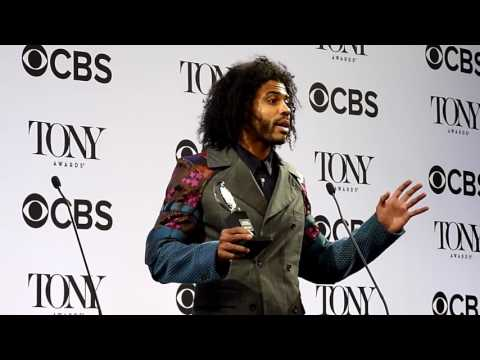 Daveed Diggs ('Hamilton'): Tony Awards 2016 backstage