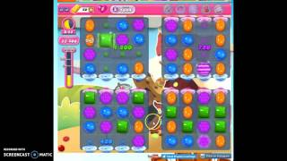 Candy Crush Level 1644 help w/audio tips, hints, tricks