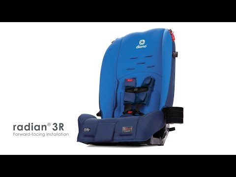 Diono 2020 Radian 3R Forward-Facing Installation