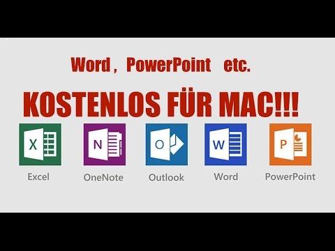 Microsoft Office  - KOSTENLOS für Mac
