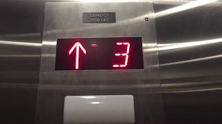 RARE DISCOVERY: THURSTON Hydraulic Elevator @ Studio 6 Extended Stay Hotel, Commerce, CA
