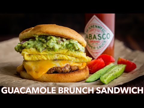 How To Make Spicy Guacamole Brunch Sandwich – Natasha's Kitchen