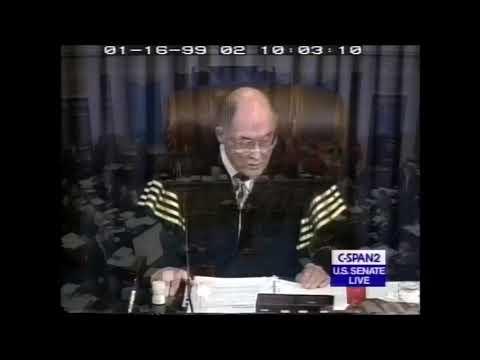 Impeachment Trial of Bill Clinton Part 2: January 16-20, 1999