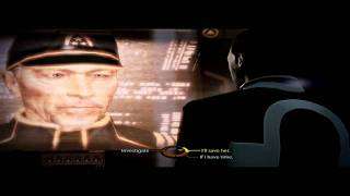 Mass Effect 2 Talking to Admiral Hackett