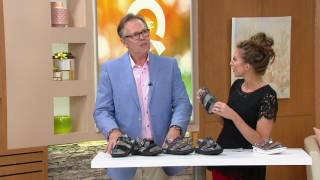 Alegria Leather Sandals with Adj. Straps - Verona on QVC
