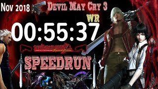 Devil May Cry 3 SE Dante NG SPEEDRUN ►World Record NOV 2018 PS4/PC/XBOX