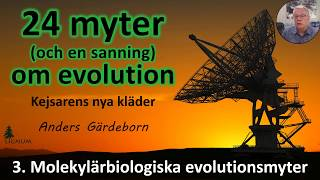 Thumbnail for video: Myter om Evolution - 3. Molekylärbiologiska myter