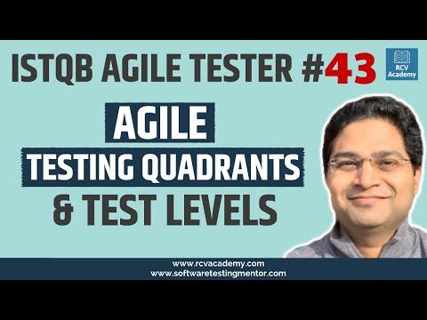 ISTQB Agile Tester #43 - Agile Testing Quadrants and Test Levels ...