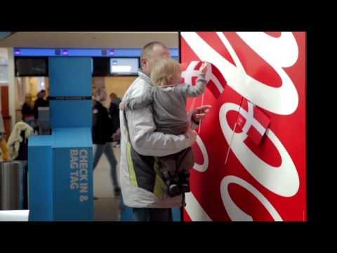 機場的可口可樂  竟然藏著國旗