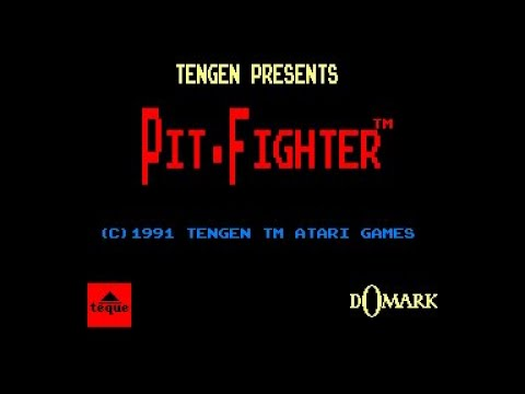 Pit-Fighter Review for the Amstrad CPC by John Gage