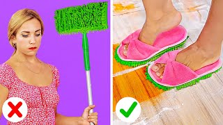 HONEY I'M HOME || Cheat Your Way Through Chores Like A Boss With These Lazy Household Hacks