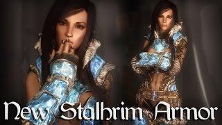 Skyrim Mods: New Stalhrim Armor