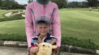 Первая игра Ромчика на Laguna Golf Course| MY DREAM GOLF