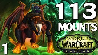 Every Mount From WoW Legion & How To Obtain Them