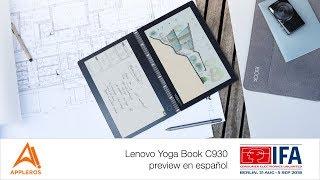 Lenovo Yoga Book C930 con pantalla e-Ink, preview en español -IFA2018