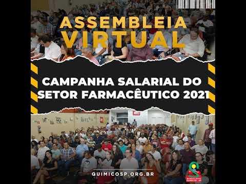 Assembleia Virtual da Campanha Salarial do Setor Farmacêutico