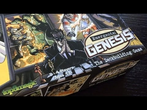 Emergents: Genesis Review - GamerNode Tabletop