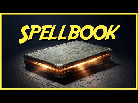Spell Book - Epic Npc Man - (When Important Quest Relics Just Pop Up)