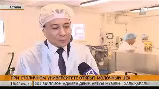 Молочный завод при университете Астана