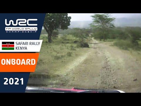 トヨタの走りをオンボード映像で比較 WRC 2021 WRC第6戦ラリー・ケニア