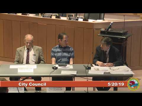 City Council Work Session on Coakley Landfill 5.20.19