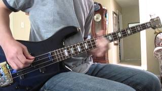Chevelle - The Damned Bass Cover