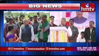 AP Governor Participated in Natural Farming Program With Farmers | hmtv  Telugu News
