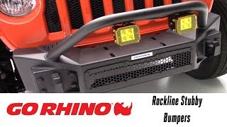 In the Garage™ with Total Truck Centers™: Go Rhino Rockline Stubby Bumper