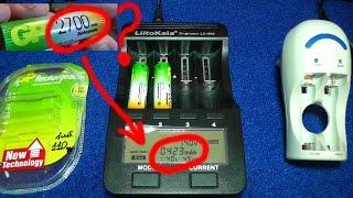 Аккумуляторы GP AA NiMh как пытаюсь восстановить емкость 2700 mА