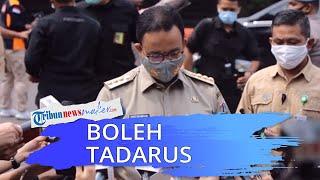 Anies Baswedan Sebut Diperbolehkan Tadarus di Masjid selama Pandemi Covid-19 dengan Satu Syarat